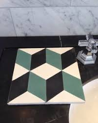 Trikeenan Basics Tile In Outer Galaxy by Charlie Chevron Pattern Available Through Renaissance Tile