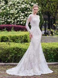 astounding inspiration long sleeve mermaid wedding dresses