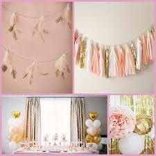gold and blush birthday party ideas hotref party gifts