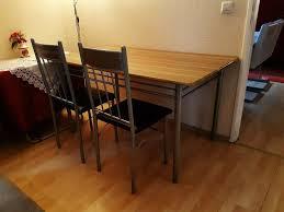 esstisch esszimmertisch tisch mit 3 stühle