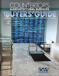 Esi Sinks Kent Wa by Isfa Countertops U0026 Architectural Surfaces 2015 Buyers U0027 Guide By