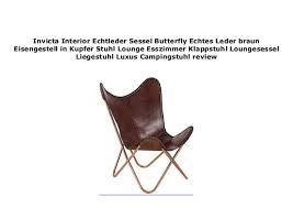 invicta interior echtleder sessel butterfly echtes leder