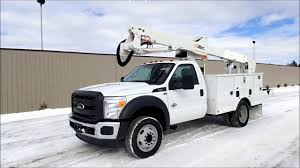 100 Altec Boom Truck Ford F550 Super Duty Bucket For Sale YouTube