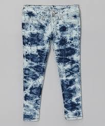 dollhouse blue u0026 white stone wash jeans girls zulily