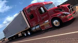 100 Knight Truck KNIGHT TRANSPORT TRUCK SKIN FOR VOLVO SHOP V30 ATS Mod American