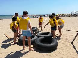 Designing Team Building Beach Activity