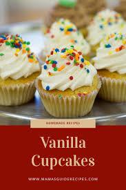 Easy Vanilla Cupcakes Recipe vanilla cupcakes for kids simple cupcake recipe for beginners