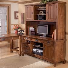 ashley furniture cross island office mission credenza desk 2
