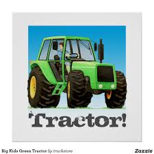 Giant Custom Kids Green Farm Tractor Poster | Construction, Truck ... Dump Truck Birthday Party Ideas B82 Youtube Cstruction Party Free Printable Signs Decorations Favors Dump Gifts Here Sign Diy Instant Download Cstruction Favors Boys Pinterest 100 Monster Jam Supplies Trucks Paper Plates Birthday Cstruction Candy Bar Fab Everyday Because Life Should Be Fabulous Www Image Inspiration Of Cake And Invitation Digger Best 25 Parties Ideas On