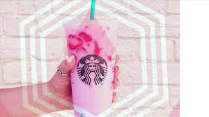 Rhcom Pin Starbucks Pink Drink Drawing By Parisfavorite From My Etsy Shop Etsycomlisting Whatunicorn Frappuccino