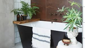 this formerly cred bathroom is now a gorgeous