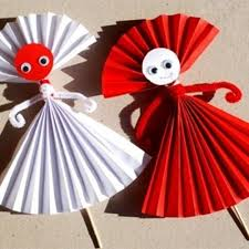 Easy Paper Doll Craft For Kids Make Origami In
