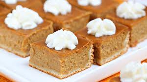 Libbys Pumpkin Pie Mix Ingredients List by Pumpkin Pie Bars Recipe Pillsbury Com