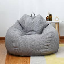 faul sofa abdeckung sitzsack liege stuhl sofa sitz wohnzimmer möbel ohne füllstoff sitzsack sofa bett hocker puff tatami