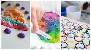 3 Simple Paint Processes For Kids