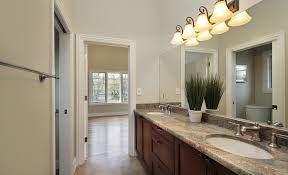 Blue And Brown Bathroom Decor by Bathroom Jack And Jill Bathrooms Layout With Blue Wall And Wooden