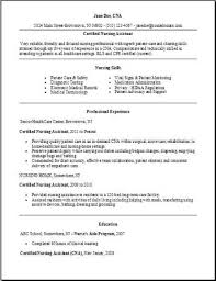 Cover Letter For Rn Job Along With Certified Nursing Assistant Resume Examples Samples Free