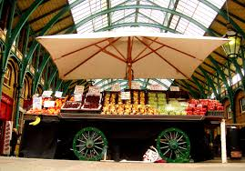 covent garden fruit stall london