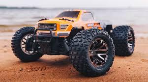 100 Cen Rc Truck ARRMA 110 Granite 4x4 3S BLX Monster RTR OrgBlk Bills RC