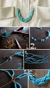 Diy Necklace Jewelry Tutorial Craft Ideas8