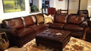 living room bernhardt foster leather sofa furniture fabric home