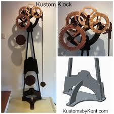 wood gear clock project kustom u0027s by kent