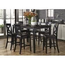 espresso kitchen dining room sets you ll love wayfair