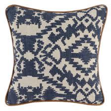 100 Christian Lassen Prints Indigo Pillow