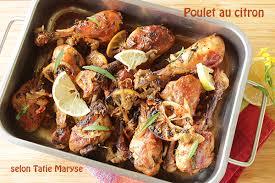 recettes de cuisine antillaise le poulet au citron comment le préparer