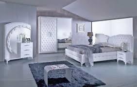 details zu schlafzimmer anatalia in weiss silber modern komplett schlafzimmer