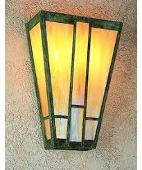 arts craft vintage entry lighting st clair wall sconce solid