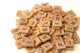 Scrabble Tile Value Change by 100pcs Wooden Alphabet Scrabble Tiles Black Letters Numbers For