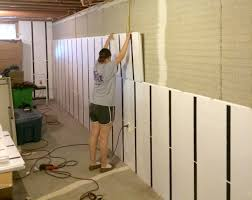 Cheap Diy Basement Ceiling Ideas by Floor To Ceiling Insulation In A Brick Wall Basement Insofast