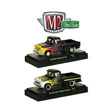 100 1958 Chevy Truck M2 Machines Wild Cards Release 11 GMC And 1959 Set