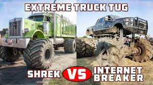 Rednecks With Paychecks Offroad - Extreme Truck Tug | Shrek Vs ...