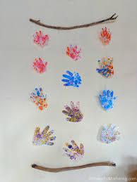 Hand Print Wall Hanging
