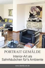ein frauen portrait gemalt für eine exklusive wandgestaltung