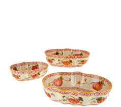 Pumpkin Patches In Cincinnati Oh by Temp Tations Pumpkin Patch Or Harvest Set Of 3 Bowls Page 1