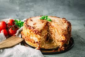 spaghetti torte mit hackfleisch das perfekte familienessen