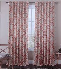 Moroccan Tile Curtain Panels by Tahari Grey Silver Floral Medallion 2pc Window Curtain Panels