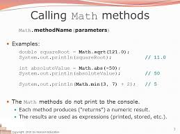 Math Ceil Floor Java by Building Java Programs Ppt Video Online Download