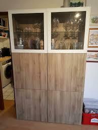 ikea besta schrank wohnzimmer glasvitrine