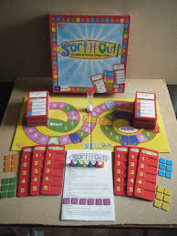 SORT IT OUT Putting Things In Order Board Game By University Games 2008