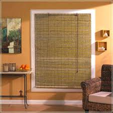 Bamboo Window Curtains Bamboo Blinds With Curtains Outdoor Bamboo