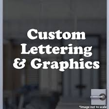 custom vinyl lettering