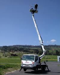 100 Truck Mounted Boom Lift Oil Steel Scorpion 1812 Van Mobile 2015