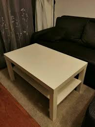 ikea lack couchtisch wohnzimmer tisch weiß