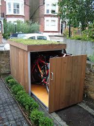 Rubbermaid Patio Storage Bins by Marlie Upgrading Bike Storage Possibilities Modern Outdoor Bike