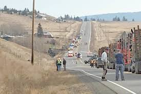100 Rocky Mountain Truck Driving School Residents And Loggers Rescue Log Truck Driver Injured In