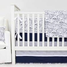 Blue Baby Crib Bedding Navy Baby Bedding